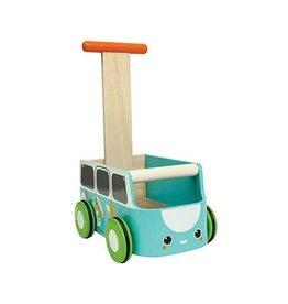 PlanToys PlanToys loopwagen blauw