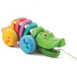 PlanToys PlanToys regenboog alligator