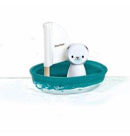 PlanToys PlanToys zeilboot ijsbeer