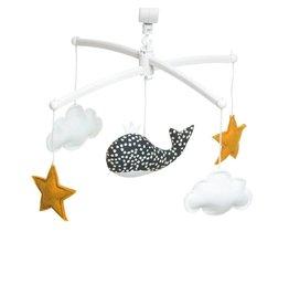 Pouce et Lina Pouce et Lina mobiel whale night blue