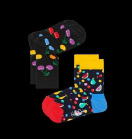 Happy Socks Happy socks KCHE02-9002 Cherry 0-12m 2 pack