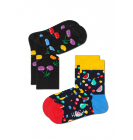 Happy Socks Happy socks KCHE02-9002 Cherry 12-24m 2 pack