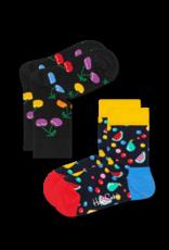 Happy Socks Happy socks KCHE02-9002 Cherry 2-3y 2 pack