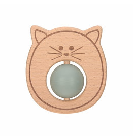 Lassig Lassig Teether Ball Little Chums Cat