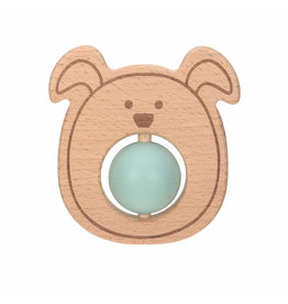 Lassig Lassig Teether Ball Little Chums Dog