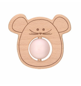 Lassig Lassig Teether Ball Little Chums Mouse