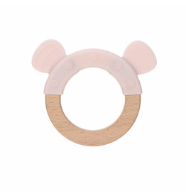 Lassig Lassig Teether Ring Little Chums Mouse