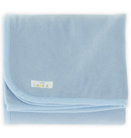Little Lemonade Little Lemonade Deken Light Blue 75x100