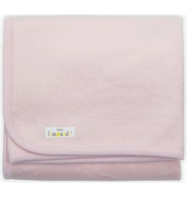 Little Lemonade Little Lemonade Deken Soft Pink 75x100