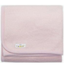 Little Lemonade Little Lemonade Deken Soft Pink 75x100