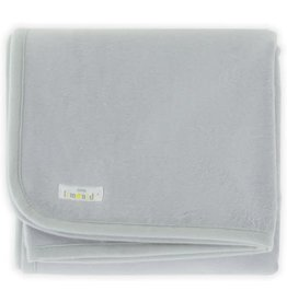 Little Lemonade Little Lemonade Deken Soft Grey 100x150
