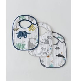 Little Unicorn Little Unicorn bib 3 pack 3 Dino
