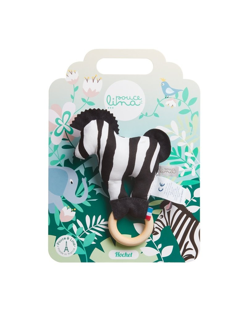 Pouce et Lina Pouce et Lina rammelaar zebra