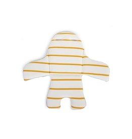 Childhome Childhome Evolu stoelkussen jersey ochre stripes