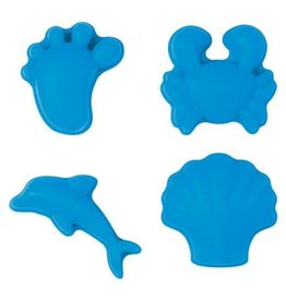 Scrunch Scrunch Moulds zandvormpjes blue