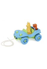 Green Toys Green Toys Dune Buggy Pull Toy blue