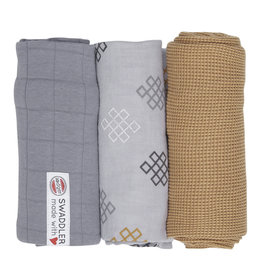 Lodger Lodger Swaddle Set Empire Knot Donkey