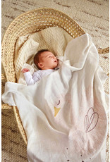 Lassig heavenly soft swaddle little water swan