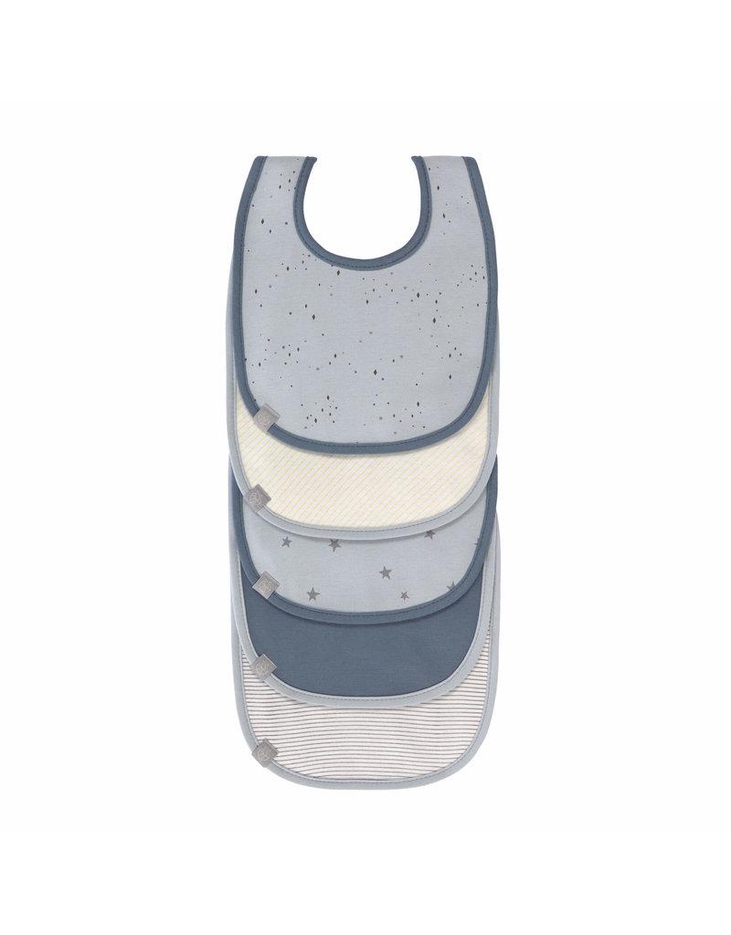 Lassig Lassig slabbetjes 5-pack More Magic Seal