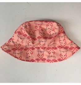 Lassig Lassig zonnehoedje omkeerbaar flamingo