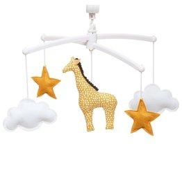 Pouce et Lina Pouce et Lina mobiel giraf jaune