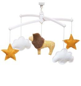 Pouce et Lina Pouce et Lina mobiel lion jaune