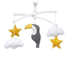 Pouce et Lina Pouce et Lina mobiel toucan jaune