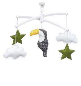 Pouce et Lina Pouce et Lina mobiel toucan vert