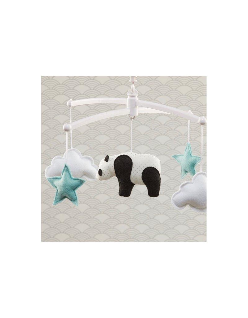 Pouce et Lina Pouce et Lina mobiel panda blue