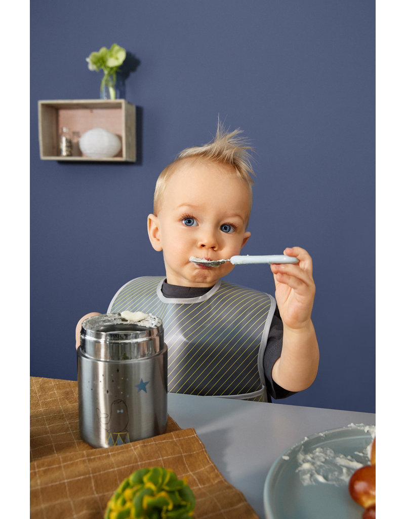 Lassig Lassig stalen potje babyvoeding More magic seal