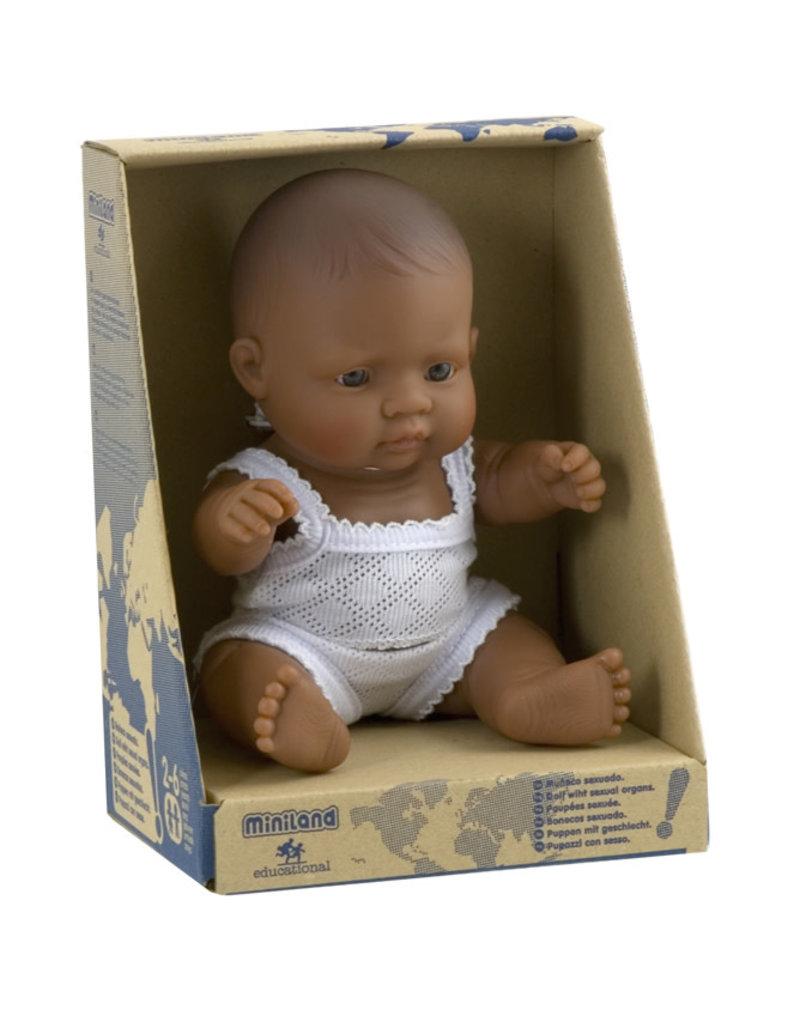 Miniland Miniland Babypop Meisje Latijns Amerikaans