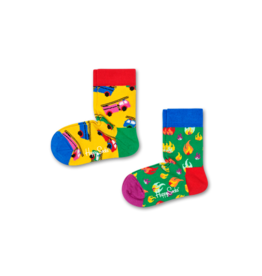 Happy Socks Happy Socks 2-pack On Fire