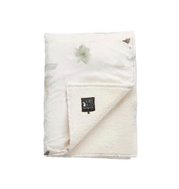Mies & Co Mies & Co Baby Soft Teddy Blanket Forever Flower Print