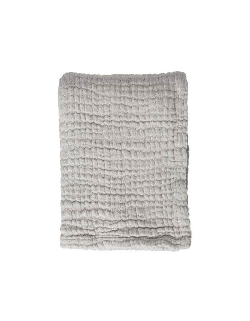 Mies & Co Mies & Co Dekentje Mousseline Gentle Grey 70x100