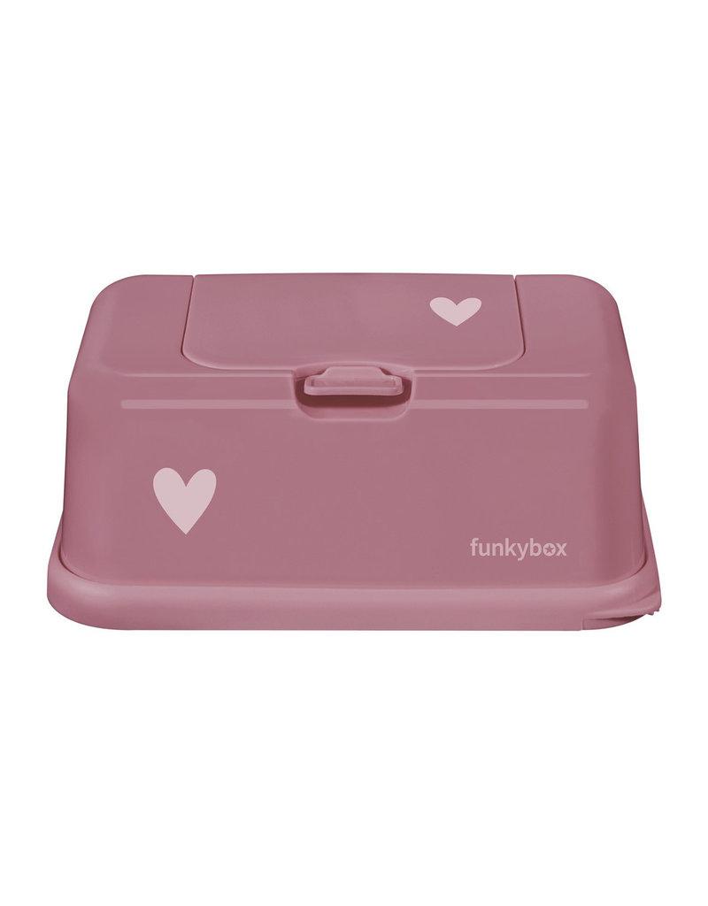 Funkybox FunkyBox Punch pink heart