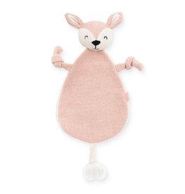 Jollein Jollein Knuffeldoekje Deer pale pink