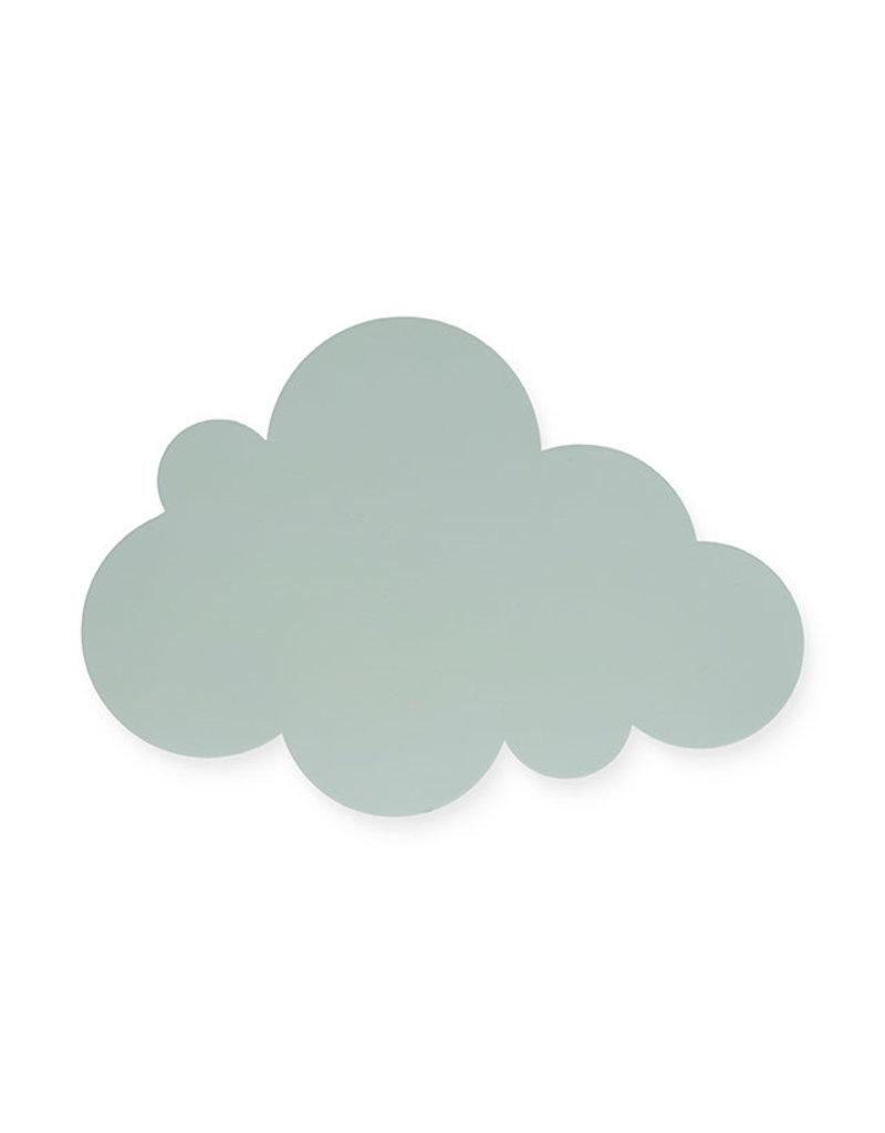 Jollein Jollein Wandlamp Clouds green