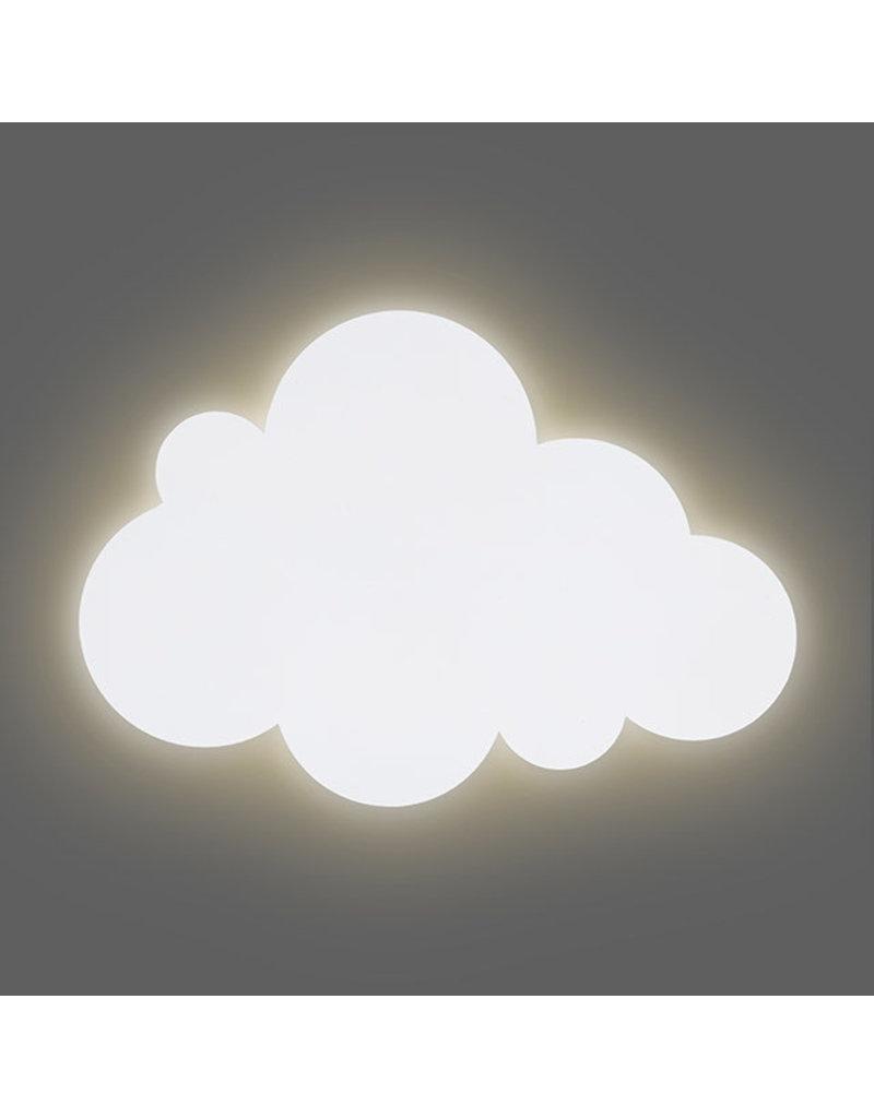 Jollein Jollein Wandlamp Clouds white
