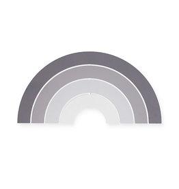 Jollein Jollein Wandlamp Rainbow grey