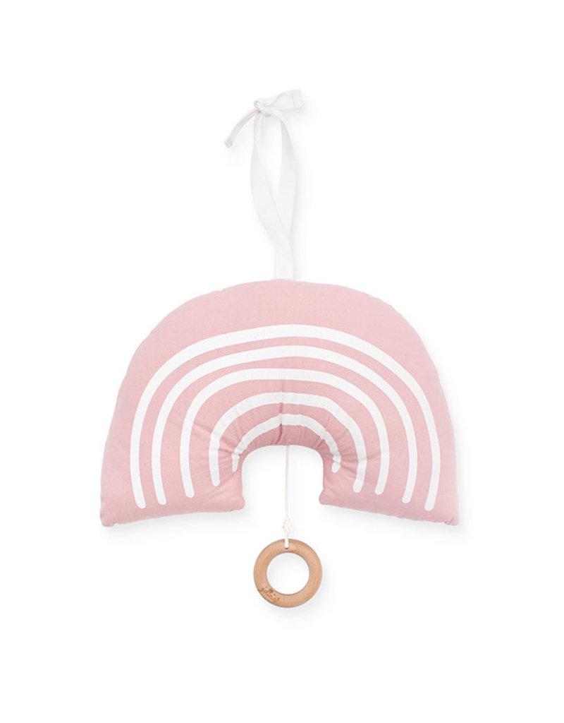 Jollein Jollein Muziekhanger Rainbow blush pink