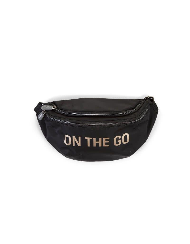 Childhome Childhome Banana Bag On the go zwart