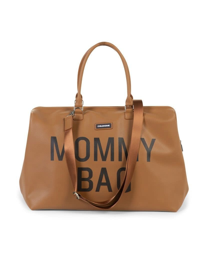 Childhome Childhome Mommy Bag Leatherlook brown