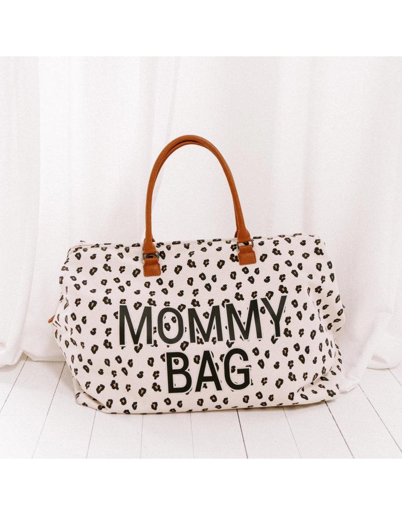 Childhome Childhome Mommy Bag Big Canvas Leopard