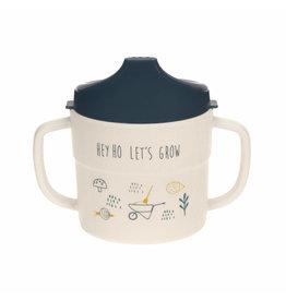 Lassig Lassig Sippy Cup Garden Explorer Blue