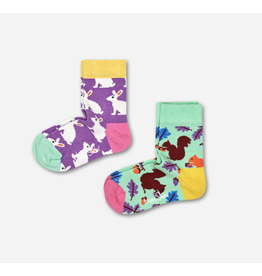 Happy Socks Happy Socks 2-pack Bunny and Squirrel