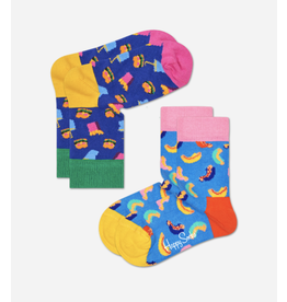 Happy Socks Happy Socks 2-pack Hamburger and Hotdog
