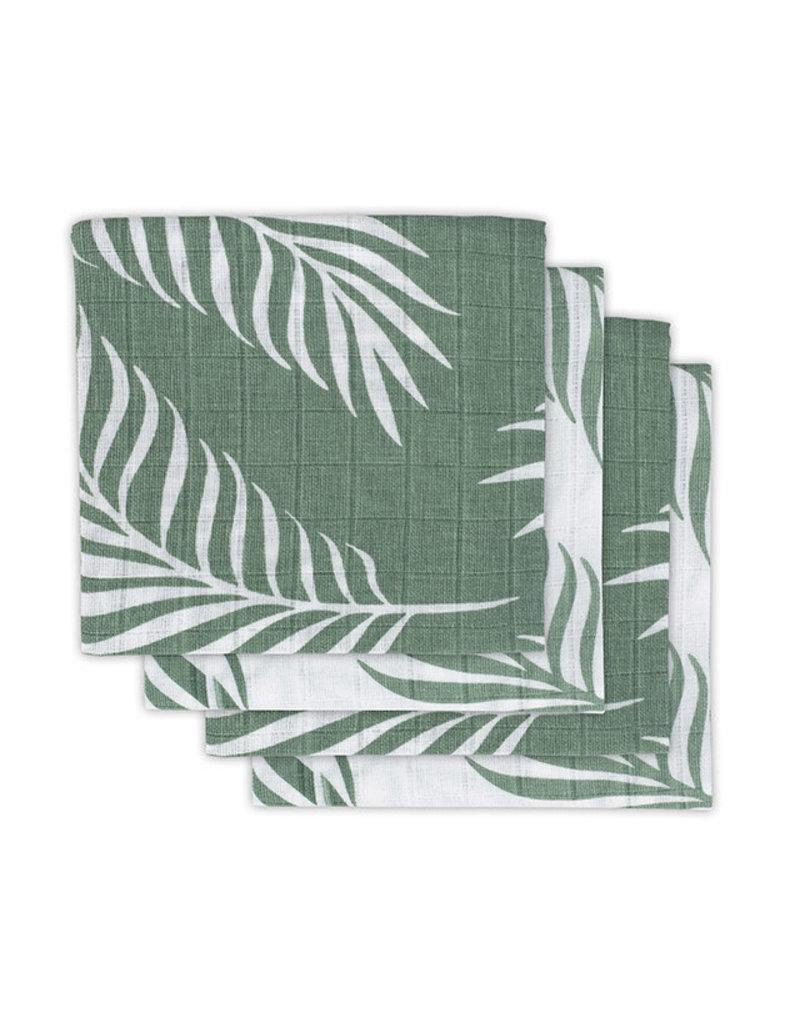 Jollein Jollein Tetradoeken Nature ash green (4pack)