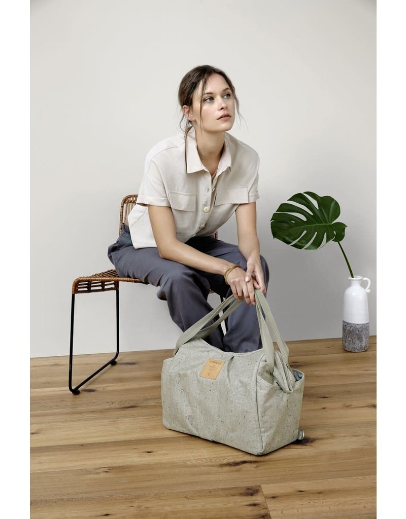 Lassig Twin Bag Boucle beige