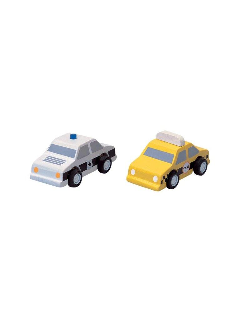 PlanToys PlanToys City Taxi & Police Car