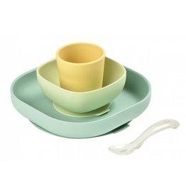 Béaba Beaba Siliconen eetset geel